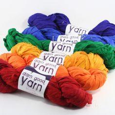 Ribbon Yarn from Darn Good Yarn