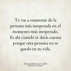 Inesperadamente..