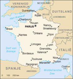 Vaste zomervakantie bestemming.... Frankrijk