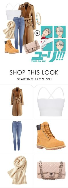 """Gender Bend Viktor Nikiforov - Yuri On Ice"" by princesselesa ❤ liked on Polyvore featuring Chicwish, Theory, Paige Denim, Timberland, Uniqlo, Chanel and WWAKE"
