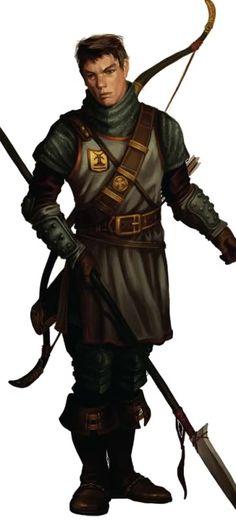 "Pathfinder - Verik Vankaskerskin (personaje de ""The Crimson Throne"")"