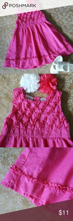 PRETTY IN PINK Dress 3T Perfect dress for Spring or Summer! Excellent Condition. Has been washed but never worn! By Kids R Us. Pair up with a cute cardigan for a sweet look! Kids R US  Dresses Casual