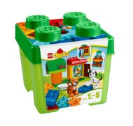 Age: 18 months+ The LEGO DUPLO All-In-One Gift Set makes a perfect treat for your child, with a range of fascinating, fun LEGO DUPLO bricks that they will love to build and rebuild with. It even comes in a sturdy, iconic LEGO brick- shaped storage box. Toys R Us, Toddler Toys, Kids Toys, Toddler Stuff, Van Lego, Sports Games For Kids, Toddler Travel, Creative Play, Building Toys