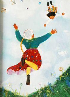 Elisa Kleven - from Abuela by Arthur Dorros