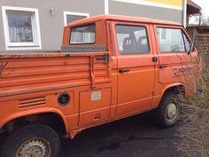 Vw T3 Doka, Volkswagen, Automobile, Van, Vehicles, Gallery, Car, Roof Rack, Vans