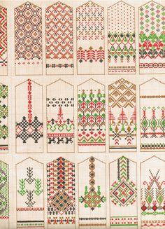 Raksti - A K - Picasa Web Albums (With images) Knitting Charts, Knitting Stitches, Hand Knitting, Knitting Patterns, Knitted Mittens Pattern, Crochet Mittens, Cross Stitching, Cross Stitch Embroidery, Cross Stitch Patterns