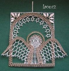 Bobbin Lace, Angels, Arts And Crafts, Christmas, Lace, Needlepoint, Christmas Jewelry, Fantasy, Xmas