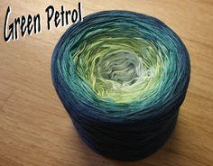 Green Petrol – Wolle Bee´s – Underbart garn