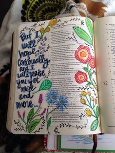 Hope CONTINUALLY. Psalm 70-Original art-J.Meier