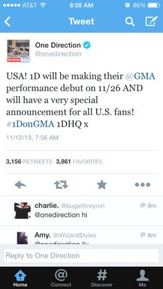 Hopefully it's about the Where We Are tour!