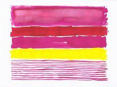 Series Fresh Thinking 6 Large Art Print of by YellowRedAndBlue, $55.00