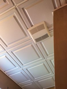One of the most important things to consider when remodeling your basement is the basement ceiling. People find basement ceilings a bit hideous and if you are of the same opinion, then you need to … Basement Ceiling Insulation, Basement Ceiling Painted, Basement Ceiling Options, Basement Ideas, Ceiling Ideas, Basement Walls, Dark Basement, Basement Decorating, Basement Carpet