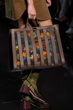 Fendi Spring 2020 Fashion Show Details. All the fashion runway close-up details, shows, and handbags from the Fendi Spring 2020 Fashion Show Details. Luxury Handbags, Fashion Handbags, Purses And Handbags, Fashion Bags, Milan Fashion, Cheap Handbags, Popular Handbags, Men's Fashion, Luxury Purses