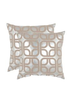 Cole Pillows (Set of 2) by Safavieh Pillows at Gilt