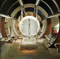 1960's interior design.