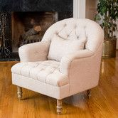 Found it at Wayfair - Dolores Tufted Chair I wish I can get this one in pink