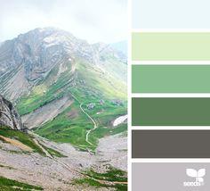 Color palette for abbey house Colour Schemes, Color Combos, Paleta Pantone, Color Concept, Green Colour Palette, Design Seeds, Color Swatches, Paint Swatches, World Of Color