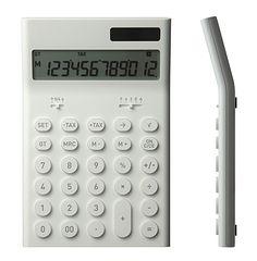 FFFFOUND! | Electronic Calculator M by Naoto Fukasawa for Plusminuszero - Free Shipping