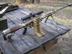 Belt-fed M82....Holy 50. caliber shit!