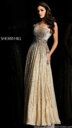 I think this is my favorite Sheri hill dress. So BEAUTIFUL.