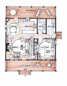 3br 2 bath 24x40 home perfect for arch cabin a girl can for Fish camp house plans