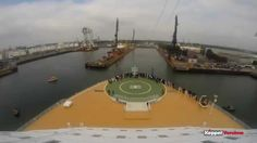 Second videoclip - Keppel Verolme dry-docking OASIS OF THE SEAS