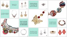Su Giada&Co. tante idee per San Valentino con gli esclusivi bijoux dei DESIGNER #Thrand #Mieko #Pepitosa #Ayalabar #Kurshuni #Lampony' #DorusMhor #Ishubra #Zoppini #Hornica