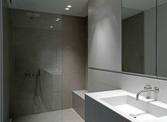 Beautiful bathroom by Belgian office Minus.