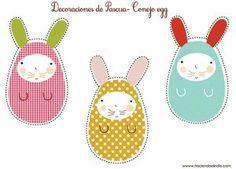 easter bunnies by andrea gooch