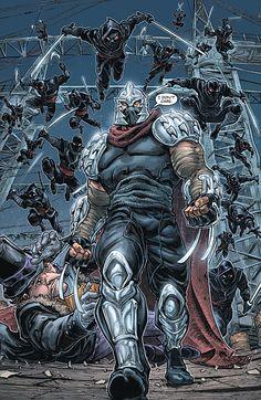 Batman TMNT #2 Shredder don't CARE
