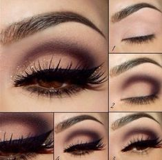 If you would like enhance your eyes and increase your appearance, using the very best eye make-up ideas will help. You'll want to make sure you wear make-up that makes you start looking even more beautiful than you are already. Mac Makeup, Eye Makeup Tips, Makeup Eyeshadow, Makeup Ideas, Makeup Tutorials, Brown Eyeshadow, Makeup Inspiration, Eyeshadow Ideas, Makeup Brushes