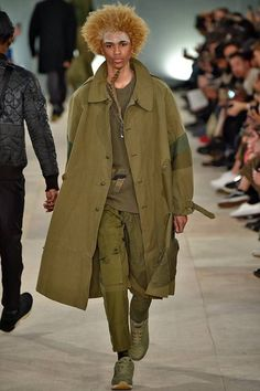 Michael Lockley@ Male Fashion Trends: Maharishi Fall/Winter 2016/17 - London Collections: MEN