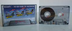 1 EMTEC BASF cassette / FE I FERRO EXTRA 90 / Leerkassette / NEUWERTIG