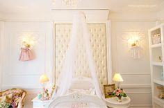 Quarto de uma Princesa (quarto bebê) - Pavesi Arquitetura