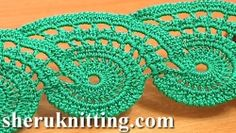 Crochet Compass Lace Pattern Tutorial 9 Part 2 of 2