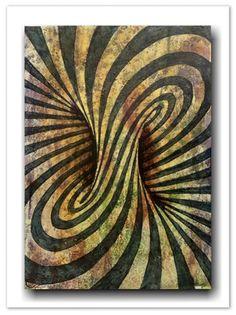 Die Entstehung der Optical Art * Die Op Art hat ihre Wurzeln im Konstruktivismus.  Die Ziele und Mittel dieser geometrisch, gegenstandslosen Kunst, deren Bilder oft aus Kreisformen, rechten  Winkeln, Rechtecken und Quadraten bestehen, die auf einem monochromen (einfarbigen) Untergrund basieren, i...