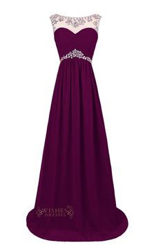 Sexy Red Chiffon Long Formal Gown/ Prom Dress/ Evening Dress This glamorous full-length chiffon formal gown will absolutely make you to be… Grad Dresses, Dance Dresses, Ball Dresses, Homecoming Dresses, Ball Gowns, Evening Dresses, Bridesmaid Dresses, Purple Prom Dresses, Royal Blue Evening Dress