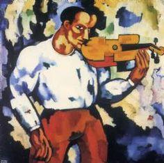 Amadeo de Souza Cardoso. Música sorda, c.1915-1916 Colección José Ernesto de Souza-Cardoso. Cedido al Museo Municipal Amadeo de Souza-Cardoso
