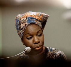 Nina Simone (aka Eunice Kathleen Waymon) (1933 - 2003) -  American singer, songwriter, pianist, arranger, and civil rights activist widely associated with jazz music. Simone aspired to become a classical pianist while working in a broad range of styles including classical, jazz, blues, folk, R&B, gospel, and pop. - Requiescant in pace