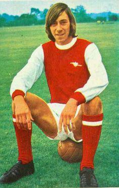Charlie George of Arsenal in 1970.