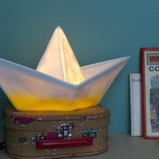 Goodnight Light Boat lamp - yellow-listing