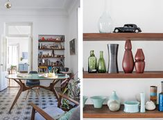 Helena Rohner, dining room and ceramic collection