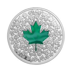 Fine Silver Coin – Maple Leaf Impression – Mintage: Canadian Coins, Canadian History, Mint Coins, Silver Coins, Canadian Identity, Gold Money, Commemorative Coins, Silver Bullion, Rare Coins