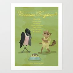 moonrise kingdom Art Print by christopher-james robert warrington - $17.00