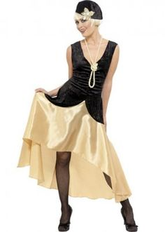 1920 s Chicago Gangster Fancy Dress Costume Full Outfit  65.00 Costume  includes hat dress 1920s Costume ecb18927b7ed
