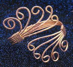 Hammered Copper Wire Jewelry | Wire Wrapped Copper Bracelet | Flickr - Photo Sharing!