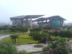 'Estádio Olímpico de Guangdong'. # Guangzhou, China.