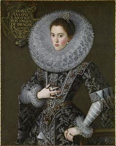 Juan Pantoja de la Cruz, Portrait de Doña Ana de Velasco y Girón, 1603 © Collection Alicia Koplowitz