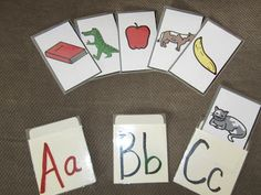 Adventures in Tutoring and Special Education: TEACCH ABC's center