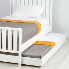 Shop Cargo Trundle Bed (White).  Our Cargo Trundle Bed (White) features simple lines, giving it a timeless look that can coordinate with nearly any style.  Shop for trundle beds today.
